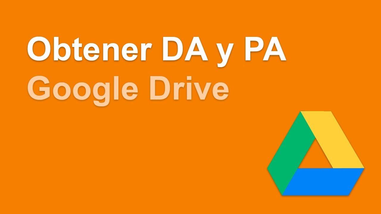 Obtener el DA y PA de varios dominios a la vez de forma fácil