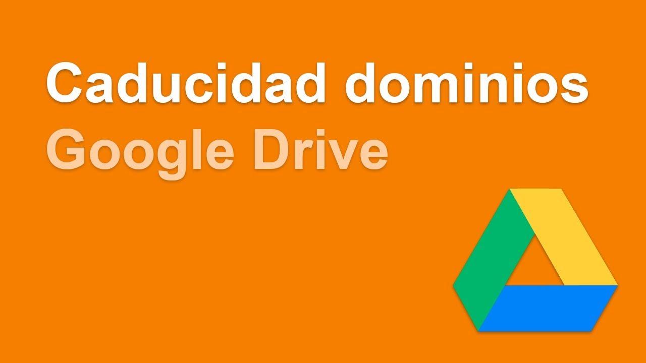 Comprobar cuando se caducan varios dominios a la vez con una hoja de google drive