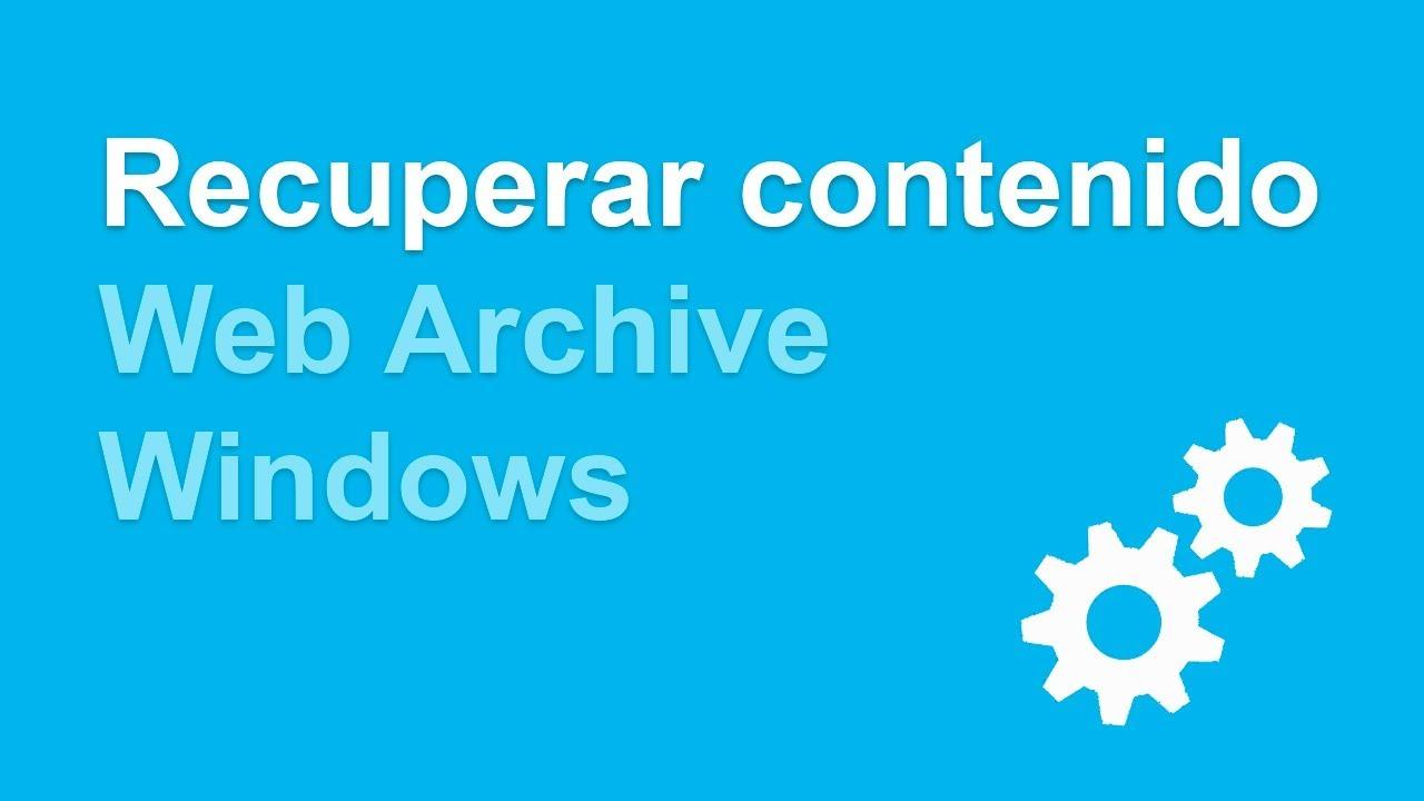 Recuperar contenido de un dominio expirado desde windows