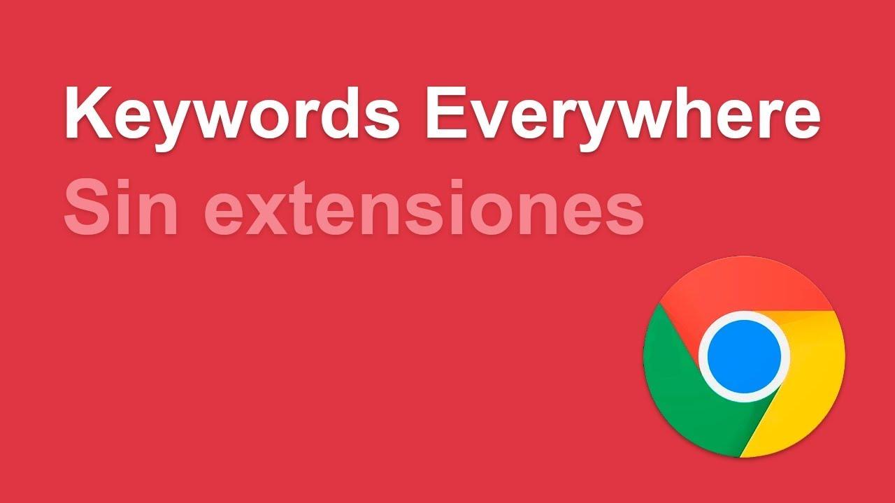 Descargar las palabras clave de Keywords Everywhere en formato CSV