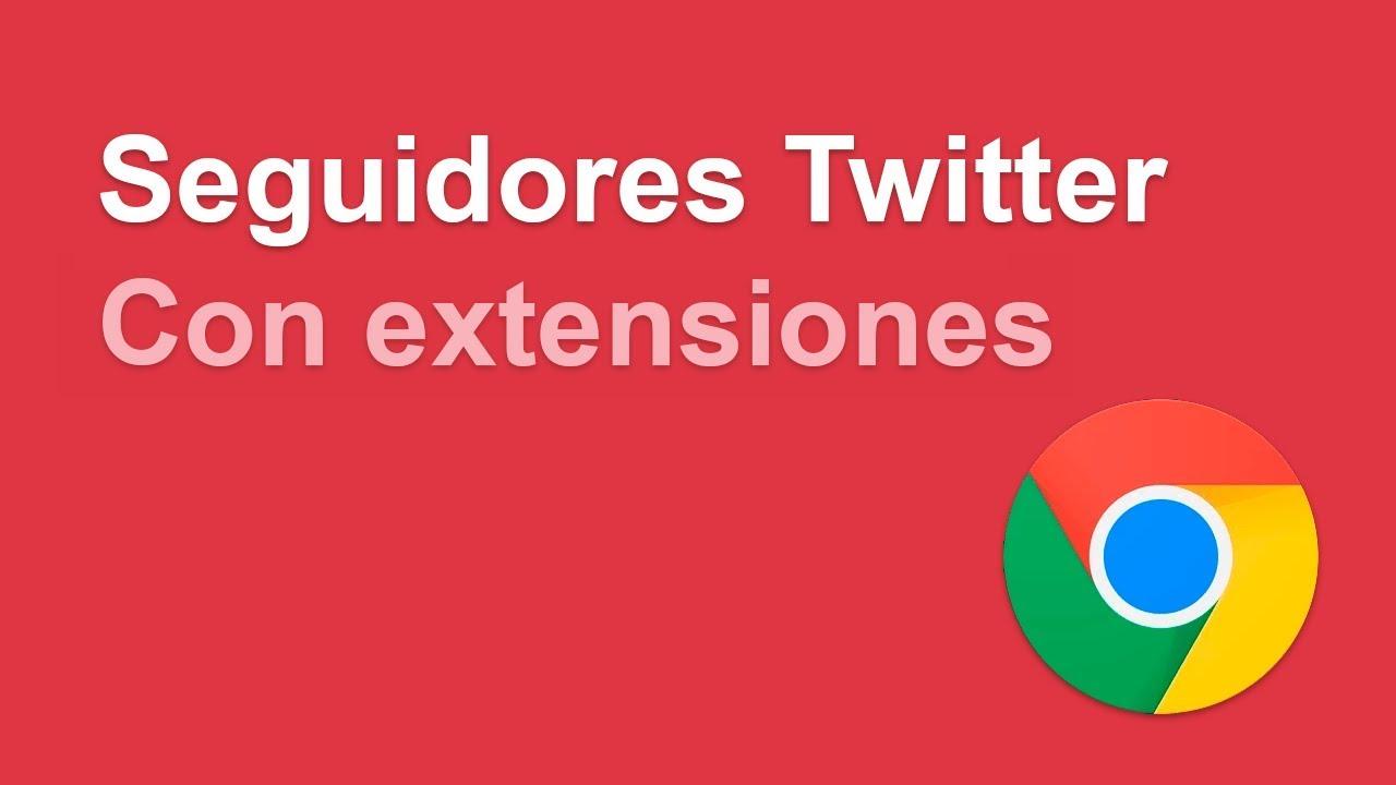 Obtener la lista de seguidores de un usuario en twitter sin APIs