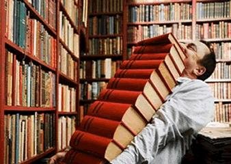 Deja de acumular libros en casa